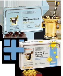Q10 Bio-Qinon Gold +Vitamin D3 gratis dazu